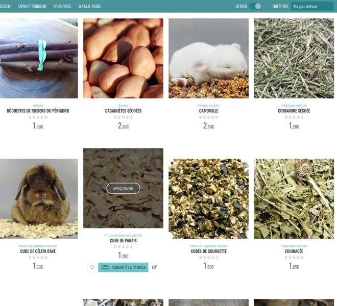 Catégorie boutique animalerie en ligne