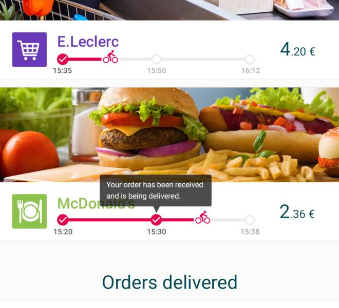 Courses application mobile de livraison collaborative Android & iOS
