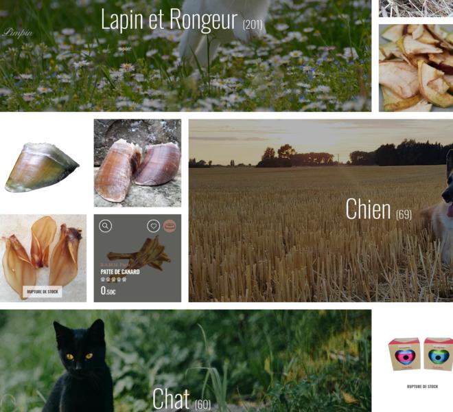 Gamme boutique animalerie en ligne